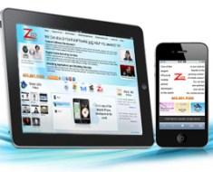 Mobilizing website