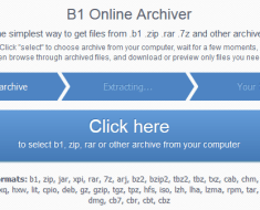 Extract Compressed Files Online