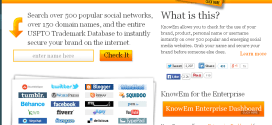 Knowem – Claim Username Availability on Social Media