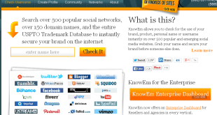 Search Username or Brand Name on Social Media Websites