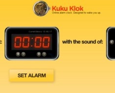 alarm clock for waking up