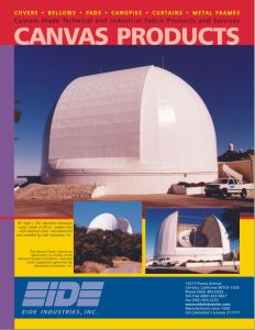 Canvas Products Literature