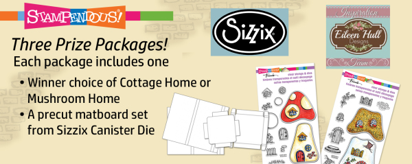 Stampendous and Eileen Hull for Sizzix Along the Garden Path Blog Hop Prize Pack