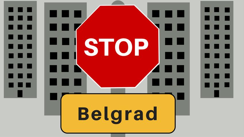 Erste Station! Belgrad!