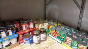 Be Prepared with Canned goods