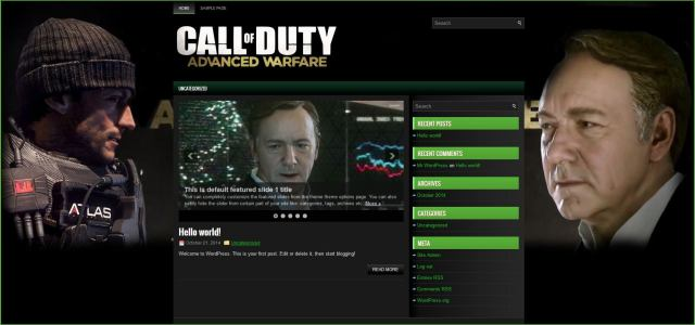 Call of Duty Advanced WarfareTemplate