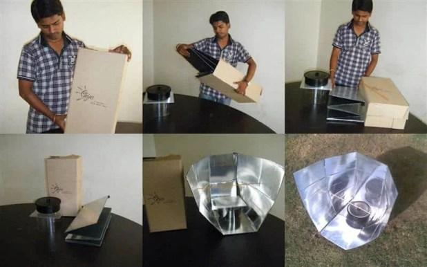 Tejas- a simple DIY solar cooker