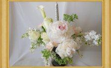 真央ゆうかのアストロロジーフラワーアレンジメント~「花運・花力」「新月に願いをかけて」~*新月もアストロロジーフラワーアレンジメントで幸運を引き寄せる*