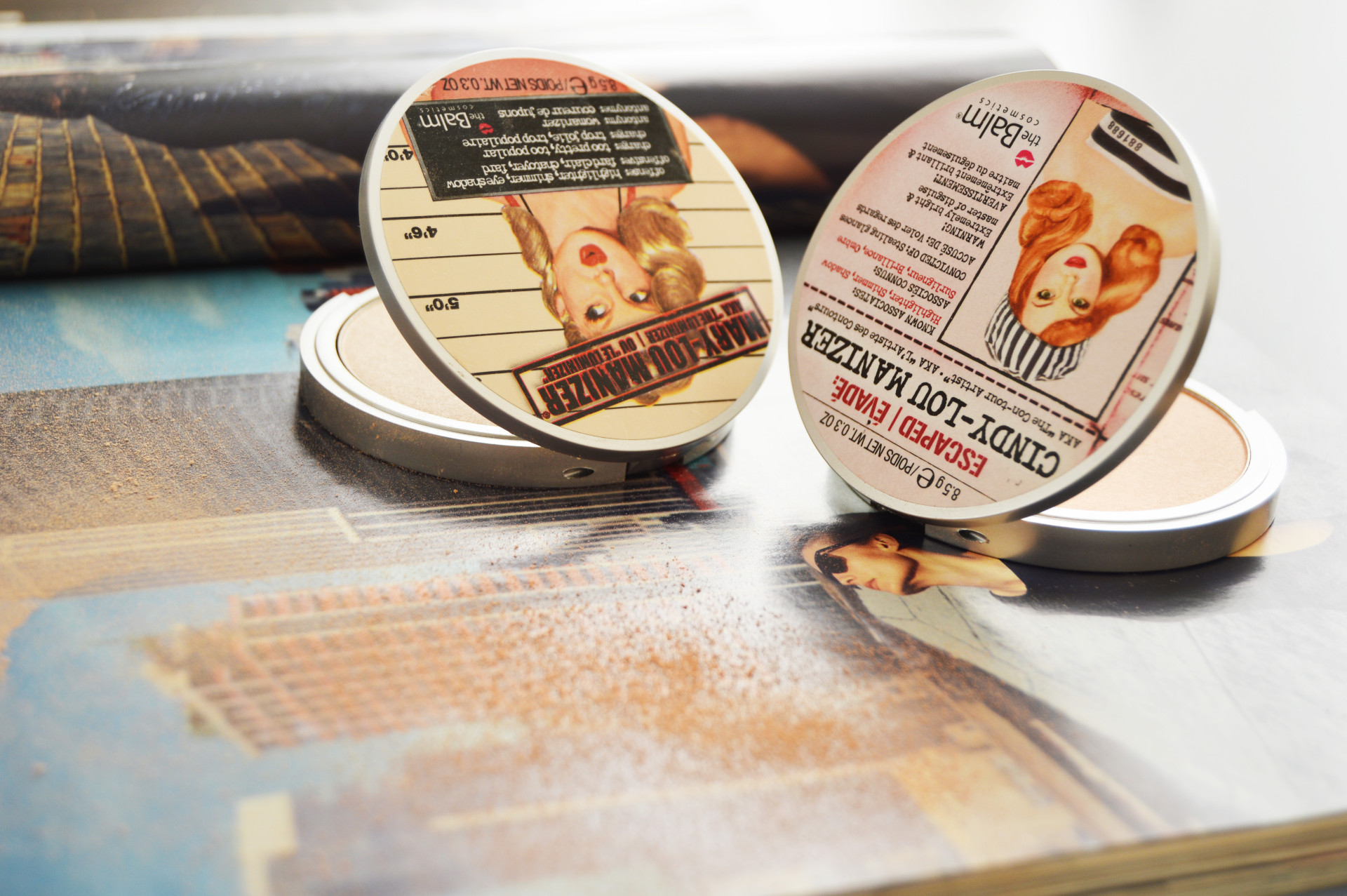 theBalm Lou Manizer | Mary-Lou Manizer and theBalm Cindy-Lou Manizer | Two highlighters which are easy to work with and give flawless finish with nice glow. Click through link to see the swatches of theBalm highlighters.