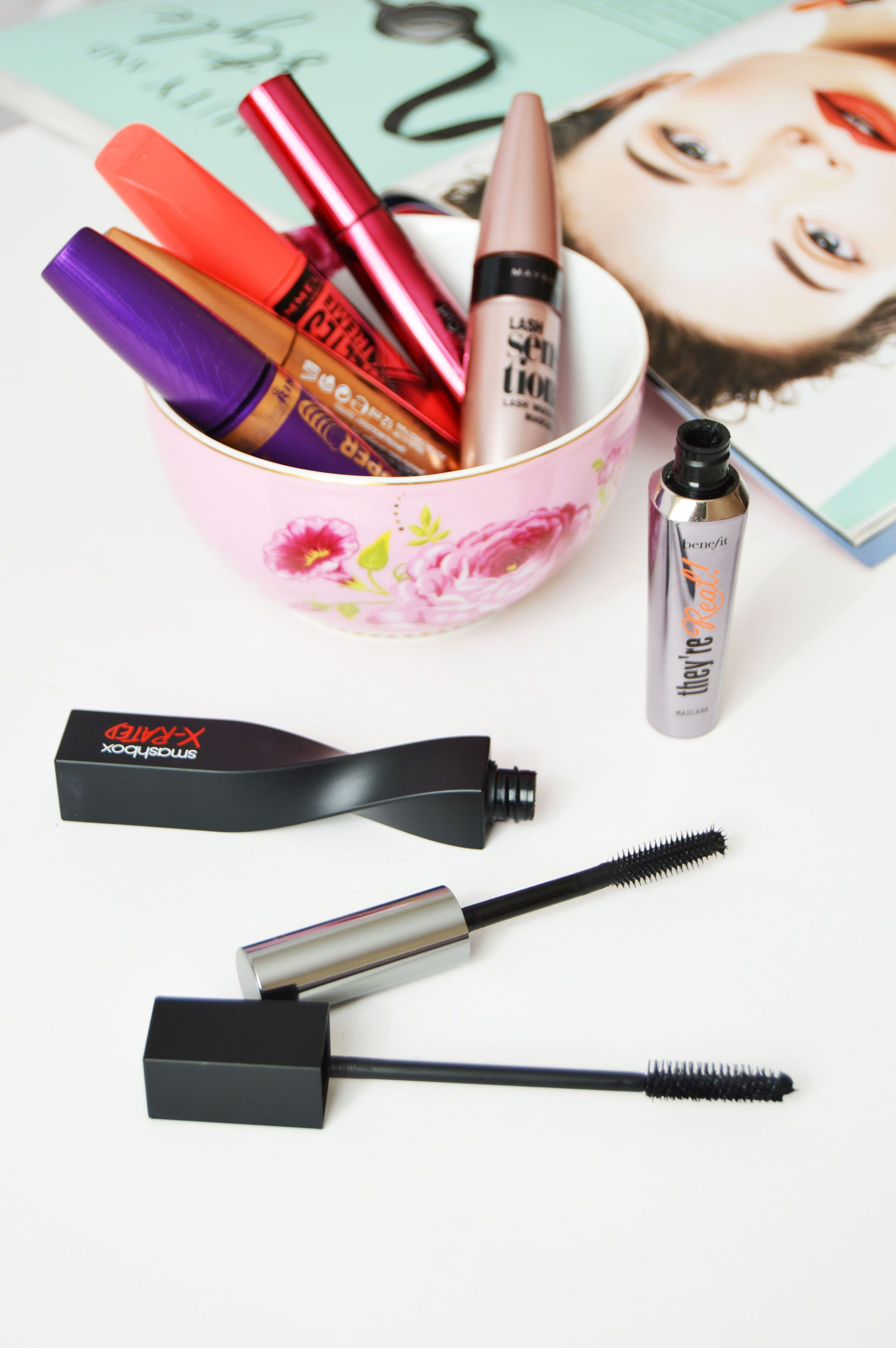 volumising and lengthening mascaras