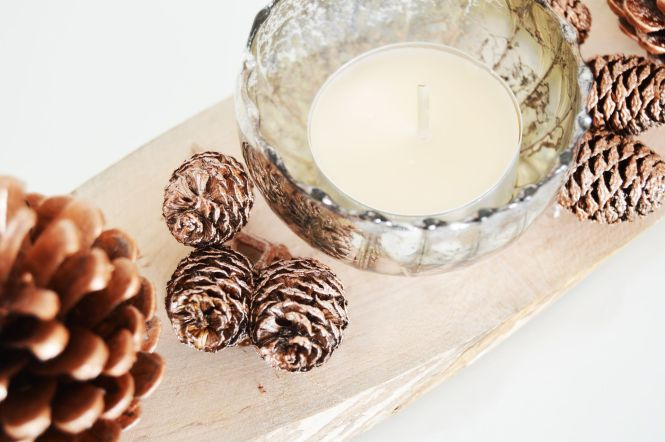 DIY candle holder is so easy to make, you only need a few things to make your own candle holder which you can use in long autumn and winter nights.