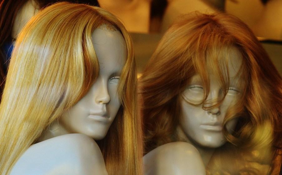 Blonde Store Mannequins