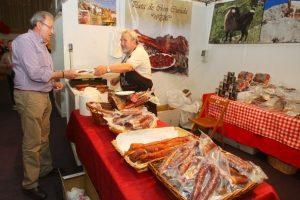 La Feria viene impulsando los stands dedicados a la agroalimentación en  (C. Sánchez)