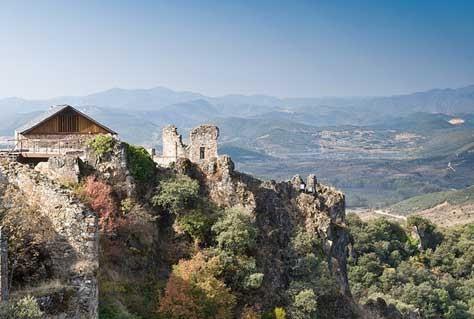 Imagen del Castillo de Cornatel.