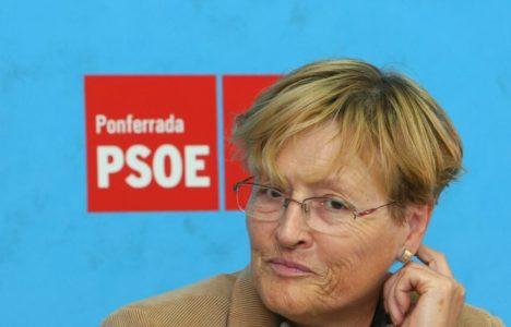 Imagen de archivo de la rueda de prensa tras el nombramiento de Rita Prada como portavoz del PSOE (César Sánchez)