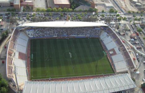 El Carlos Belmonte, escenario del debut de la Deportiva en Segunda en 2006