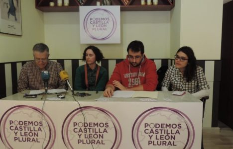 Cuatro de los cinco representantes bercianos de la lista Castilla y León Plural