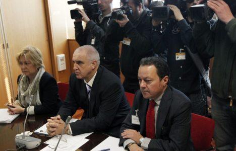 Alberto Nadal, se reúne con los integrantes de la Comisión de Seguimiento del Marco de Actuación para la minería del carbón (Juan Lázaro)