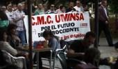 Manifestación de mineros de UMINSA (Pablo Lorenzana)