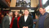 Folgueral, algunos de sus concejales, y el secretario de USE (C. Sánchez / Ical)