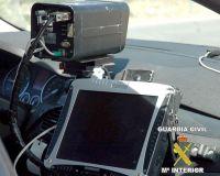 Equipo de radar móvil (Foto: Guardia Civil de Tráfico)