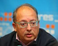Eduardo Fernández en una comparecencia ante los medios (César Sánchez/ Ical)