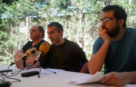 Imagen de una rueda de prensa ofrecida por PeC