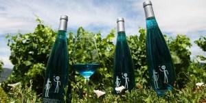 Vino Byva Blue, de las Bodegas y Viñedos Amaya (C. Sánchez/Ical)