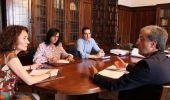 Merayo, Vidal y Mendo se reunieron con el director general de la Ciuden, Castiñeiras