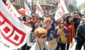 Una de las protestas protagonizada por los trabajadores