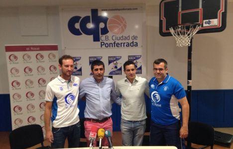 Iván Cuesta, Óscar García, Roberto Mendo y Luis Daniel Enríquez (CDP)
