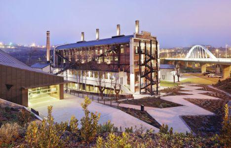 Imagen del las instalaciones de la Fábrica de la Luz