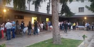 La cuarta fusión vinos y pinchos se celebró en la terraza del Parador de Villafranca