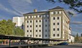 La sede central de la fundación está vacía desde el traslado de las oficinas  a su planta tecnológica de Cubillos