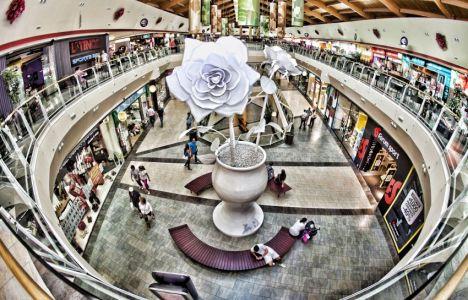 Imagen del centro comercial del Rosal de Ponferrada