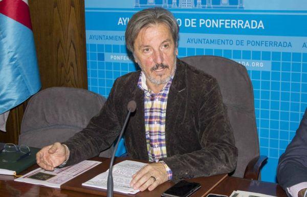 El portavoz de Colaición por El Bierzo, Pedro Muñoz, en una foto de archivo (Nairobi Fernández)