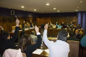 Votación en la asamblea de Pongesur, celebrada hoy (Nairobi Fernández)