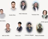 Junta directiva de la agrupación  de Ciudadanos El Bierzo-Laciana.