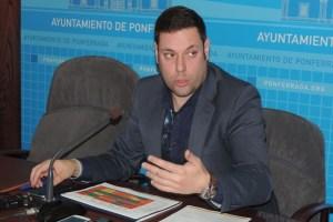 El concejal de CB, Iván Alonso.