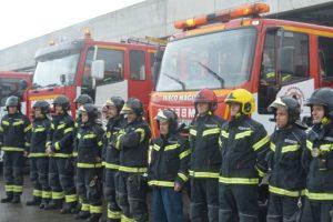 Imagen de archivo de los bomberos de Ponferrada
