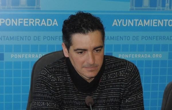 El concejal de Deportes del Ayuntamiento de Ponferrada, Roberto Mendo.