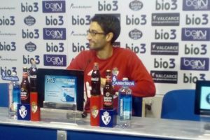 Rubén Vega, en rueda de prensa.