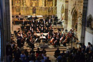 Concierto de las obras de Cristóbal Halffter como culmen de los actos de celebración del 25 aniversario del Consejo Comarcal. / QUINITO