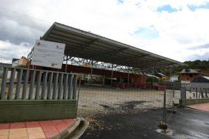 La Estación de autobuses de Bembibre ya está finalizada / C. SÁNCHEZ