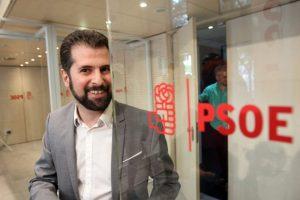 Imagen de archivo del secretario general del PSOE de Castilla y León,Luis Tudanca. / J. Lázaro