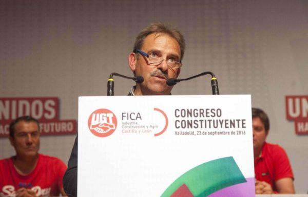 Miguel Ángel Gutiérrez Fierro, secretario general de la nueva Federación de Industria, Construcción y Agro (UGT-FICA). / M. Chacón