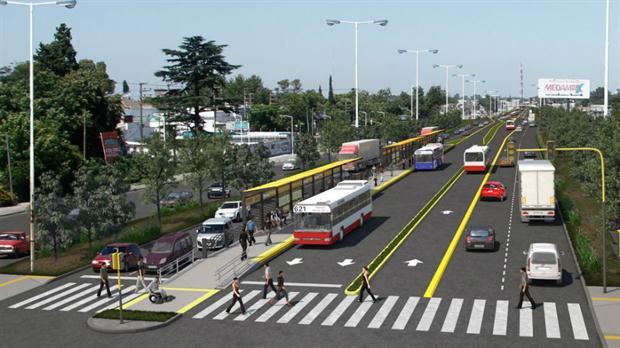 metrobus en La Matanza