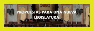 Propuestas para una nueva legislatura