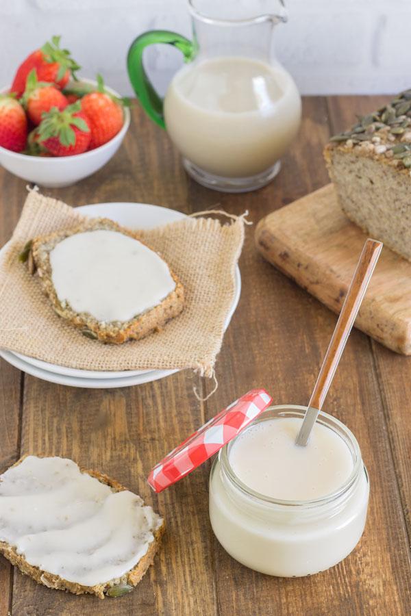Mantequilla de coco casera