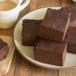 Pastel de chocolate saludable